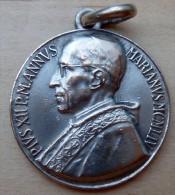 Mad-125 Médaille Ancienne En Pius XII Marianus 1952 - Godsdienst & Esoterisme
