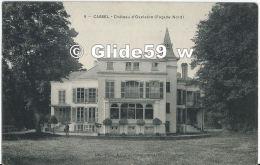 CASSEL - Château D'Oxelaëre (Façade Nord) (animée) - N° 9 - Cassel