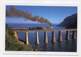 SOUTH AFRICA - AK 201187 Ost-Kap - Historische Eisenbahn über Den Goukamma River - South Africa