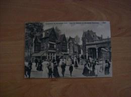 Belgique: Carte Postale Ancienne De Bruxelles- Exposition 1910-Vue De L'entrée De Bruxelles Kermesse - Expositions Universelles