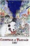 Italia 2007 Viareggio Carnevale Carnival Carnaval Special Card - Carnaval