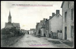 Cpa Du 44 La Chapelle Glain Route Nationale Vers Candé --  Saint Julien De Vouvantes  TRIS13 - Saint Julien De Vouvantes