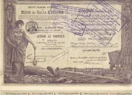 S.A. Ottomane DesMines De Balia-Karaidin - 1923 - Mijnen