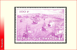 Rwanda 0345A**  Exposition Naples   MNH