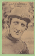 John VAN RUYSSEVELD. 2 Scans. Edition Sportkaarten Frank Nels - Cyclisme