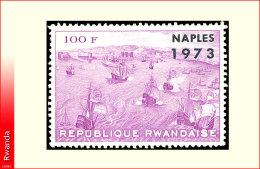 Rwanda 0560A**  Naples 73  surcharge  MNH