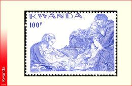 Rwanda 0789**  Noel   MNH