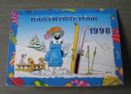 GOTLIB : Tous En Piste Pour 1998. Calendrier De Poche - Calendarios