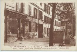 93, Seine-Saint-Denis, LE BOURGET, Le Grand Garage BON, Propriétaire......etc, Scan Recto-Verso - Le Bourget