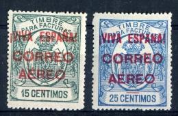 PATRIOTICOS     Burgos   Nº 54 / 55    Sin Charnela( *** )-193 - Emisiones Nacionalistas