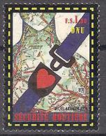 2004 ONU ITALIA EMISSIONE CONGIUNTA SICUREZZA STRADALE 1 V. - Emissioni Congiunte