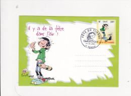 Enveloppe GASTON FRANQUIN Fete Du Timbre SEMEAC Chat Mouette - Dalix GECS 207 - 1961-....