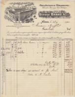 Gard, Nîmes,  Manufacture De Chaussures U. Barre 19120 - Textilos & Vestidos