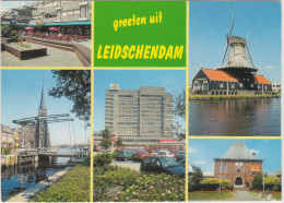 Leidschendam: RENAULT TWINGO, OPEL KADETT-E, VOLVO 340, DAIHATSU CHARADE ? -  Molen ´De Salamander´  Holland / Nederland - Voitures De Tourisme