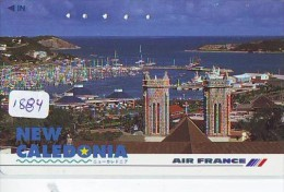 Télécarte Japon * AVION * AIR FRANCE * NEW CALEDONIA  (1884) Japan Phonecard * AIRPLANE * AIRLINES * AVIATION - Avions