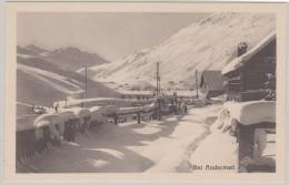 Uri ANDERMATT Ungebraucht Schneelandschaft Foto Wehrli - UR Uri