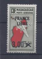 Madagascar - PA N° 53 Neuf ** - FRANCE LIBRE - Cotation: 2,00 € - Neufs