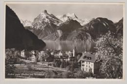 Uri SISIKON 1937-V-7 Brunnen Sisikon Mit Gitschen U. Uristock Photoglob Wehrli - UR Uri