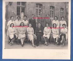Photo Ancienne - ALENCON ( Orne ) - Lycée - Classe De Philo Lettres - 1942 / 1943 - Mestieri