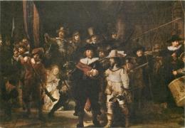 Rembrandt Van Rijn  The Nightwatch  Art Postcard - Peintures & Tableaux