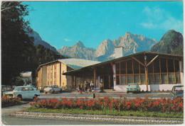 Kranjska Gora: PEUGEOT 404, NSU PRINZ 1200, FIAT 500 & 128, FORD CORTINA '67 - Hotel Prisank  - YU (Slovenia) - PKW