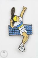 Tennis Player -Pin Badge #PLS - Tenis