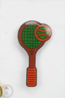 Tennis Racquet And Ball - Pin Badge #PLS - Tenis