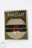 Babolat Double Line - Tennis String - Air Jet Technology - Advertising Pin Badge #PLS - Tenis
