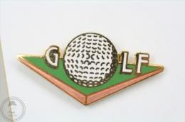 Golf - Demons & Mervelles Signed - Pin Badge #PLS - Golf