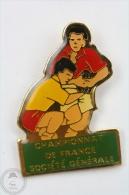 Rugby Championnat De France - Société Générale - Pin Badge #PLS - Rugby