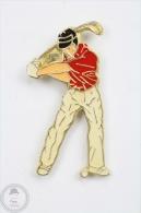 Golf Player - Pin Badge #PLS - Golf