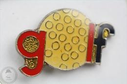 Golf  - Pin Badge #PLS - Golf
