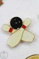 Bowling - Pin Badge #PLS - Bowling