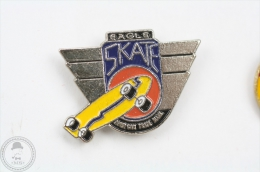 Eagle Skate - American Trade Mark - Pin Badge #PLS - Skateboard