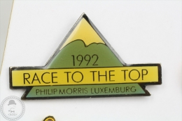 1992 Race To The Top - Philip Morris Luxemburg - Pin Badge #PLS - Marcas Registradas