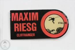 Silvester Stallone - Cliffhanger ( Maxim Riesg)  - Pin Badge #PLS - Cine