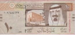 BILLET - ARABIE SAOUDI - 10 Riyals De 1993 - Pick 33 - Arabie Saoudite