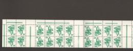 BRD Unfallverhütung Markenheftchenbogen MHB 16 ** 2er Streifen Mit Oberrand MNH 2 Bilder - Carnets