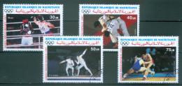 MAURETANIEN - Mi-Nr. 906 - 909 Olympische Sommerspiele, Seoul  Gestempelt - Summer 1988: Seoul