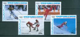 MAURETANIEN - Mi-Nr. 912- 916 Goldmedaillengewinner Bei Den Olympischen Winterspielen In Calgary Gestempelt - Winter 1988: Calgary