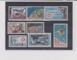TAAF - ANNEES COMPLETES 1960 à 1965 AVEC PA ** - COTE = 989 EURO - Volledig Jaar