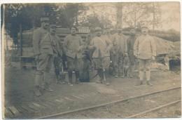 BENAIS - Carte Photo Miltaire - Groupe De Soldats Du 32° RI - Altri Comuni