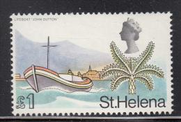 St. Helena MNH Scott #223 1pd Lifeboat ´John Dutton´ - Sainte-Hélène