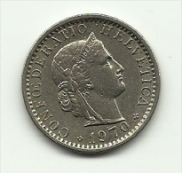 1970 - Svizzera 20 Rappen - Suiza