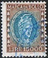 Italy C1940 Classic Type Marca Da Bollo 15000l Good/fine Used - Otros