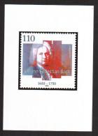 2000 Publicity Proofs Johann Sebastian Bach M#2126 S#2092 - Beroemde Personen