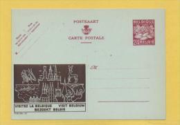 PUBLIBEL POUR L ETRANGER  2.50 FRS AGRICULTURE INT 06 VISITEZ LA BELGIQUE - Enteros Postales
