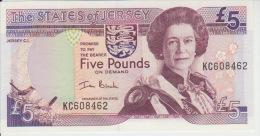 Jersey 5 Pound (2000)  Pick 27 UNC - Jersey