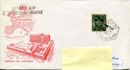 Oblitération Istres Air - Cachet Hexagonal - 4 Mai 1964 - R 1282 - Bolli Militari A Partire Dal 1940 (fuori Dal Periodo Di Guerra)