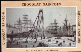 CHROMO CHOCOLAT SAINTOIN, 45 ORLEANS - LE HAVRE , LA MATURE - Chocolate